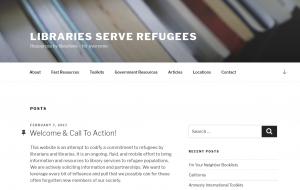Bibliotheken en vluchtelingen